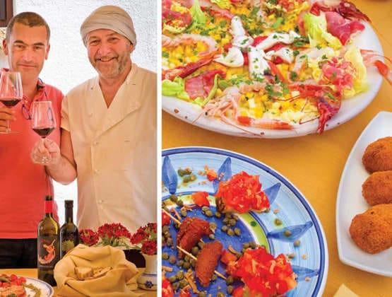 Sicilian Sea Treasures Recipes